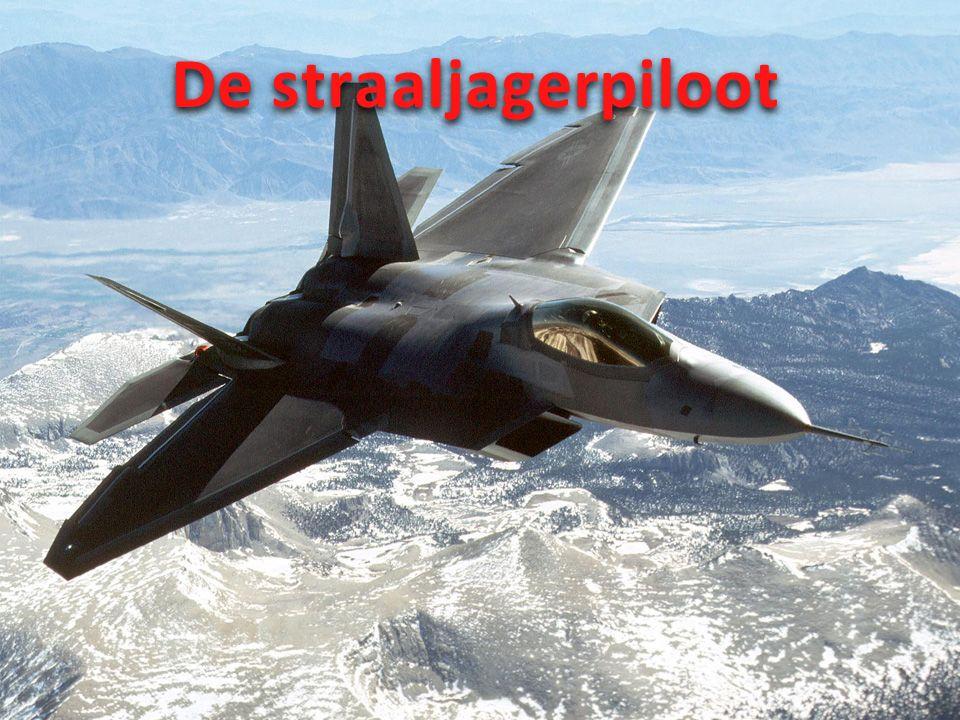 Wat is een straaljagerpiloot?