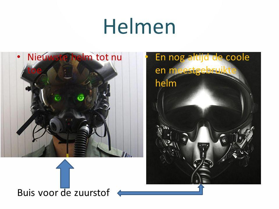 Helmen Nieuwste helm tot nu toe En nog altijd de coole en meestgebruikte helm Buis voor de zuurstof