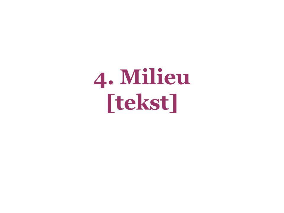 4. Milieu [tekst]