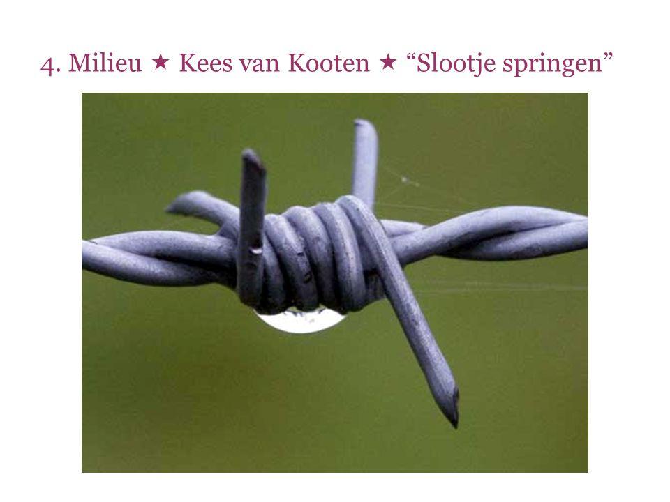 """4. Milieu  Kees van Kooten  """"Slootje springen"""""""