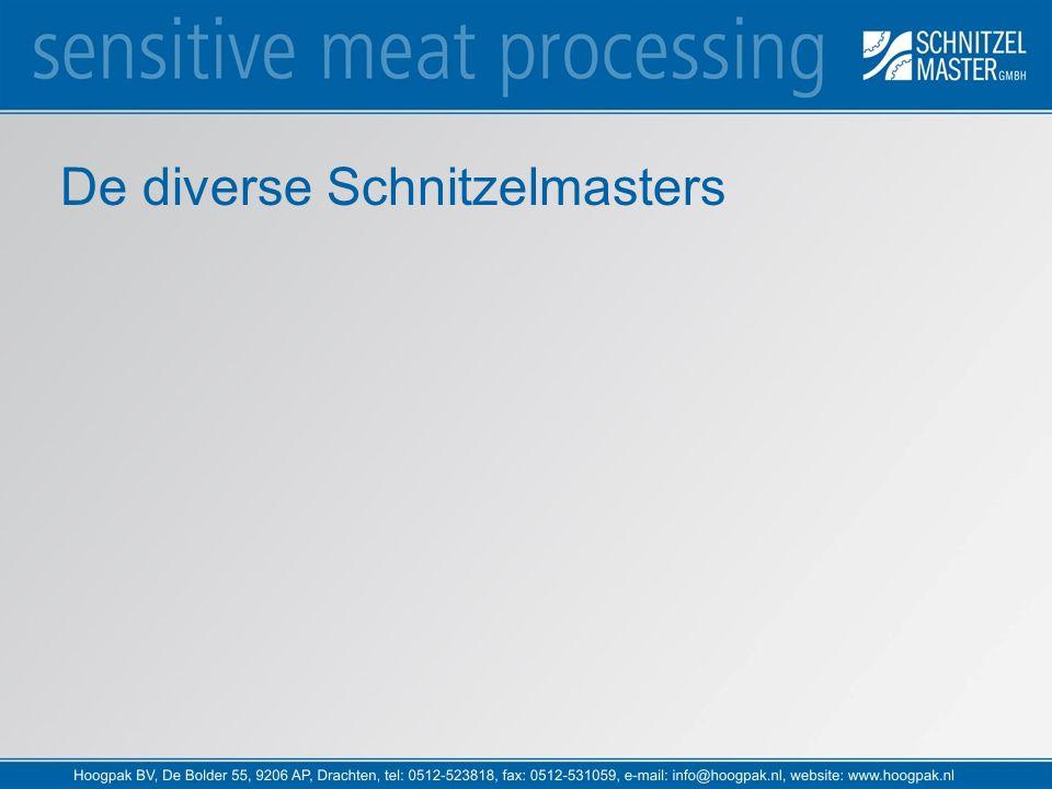 De diverse Schnitzelmasters