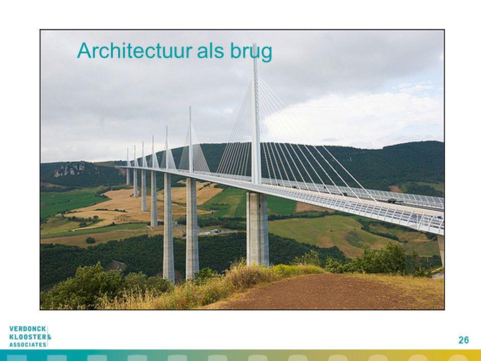 26 Architectuur als brug