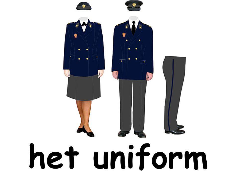het uniform