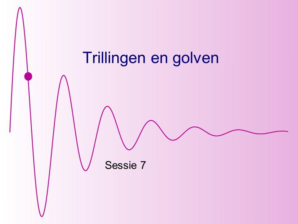 Trillingen en golven Sessie 7