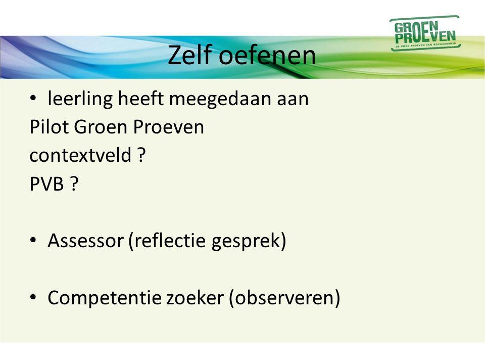 Workshop vraag 1: Welke ervaring heeft het reflectie gesprek opgeleverd voor de leerling.