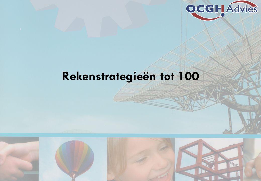 Rekenstrategieën tot 100