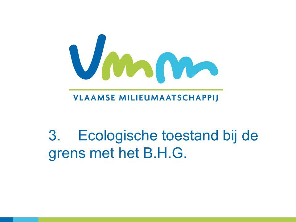 3.Ecologische toestand bij de grens met het B.H.G.
