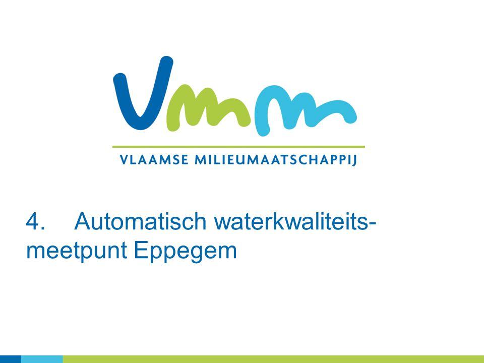 4.Automatisch waterkwaliteits- meetpunt Eppegem