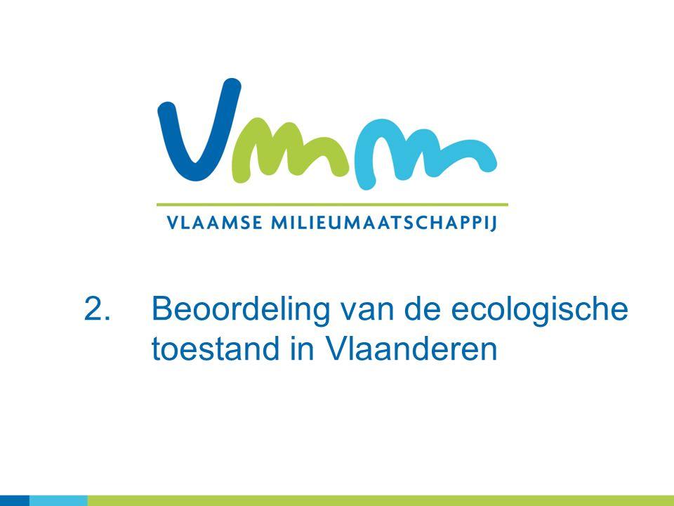 2.Beoordeling van de ecologische toestand in Vlaanderen