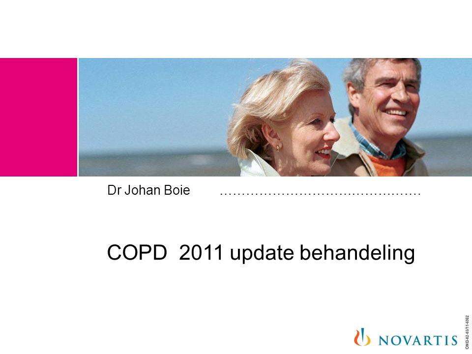 ONB-02-03/11-6982 Dr Johan Boie ………………………………………. COPD 2011 update behandeling