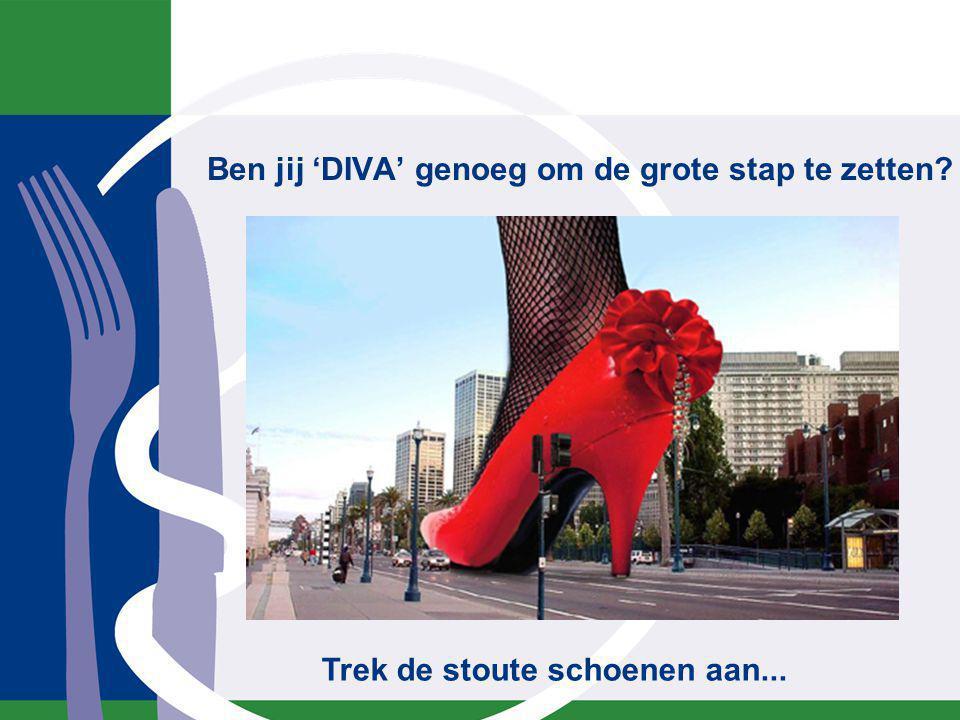 Ben jij 'DIVA' genoeg om de grote stap te zetten? Trek de stoute schoenen aan...
