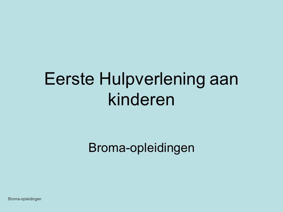 Eerste Hulpverlening aan kinderen Broma-opleidingen