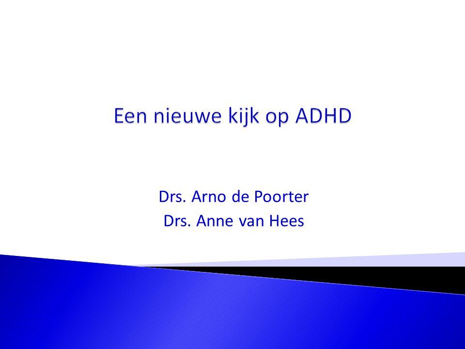 ADHD wordt veroorzaakt door een neurologische verschil in de hersenen.