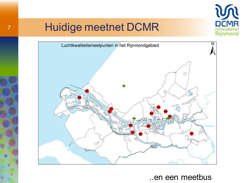 7 Huidige meetnet DCMR..en een meetbus