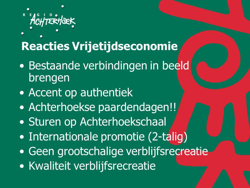 Reacties Vrijetijdseconomie Bestaande verbindingen in beeld brengen Accent op authentiek Achterhoekse paardendagen!.