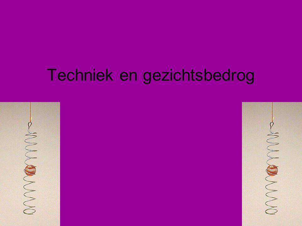 Techniek en gezichtsbedrog