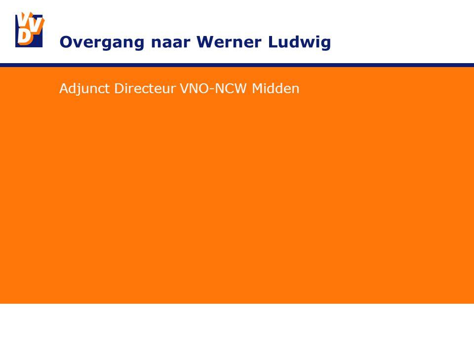 Overgang naar Werner Ludwig Adjunct Directeur VNO-NCW Midden