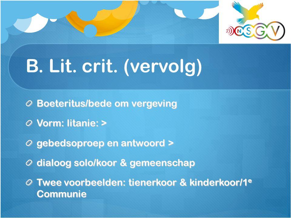 B. Lit. crit.