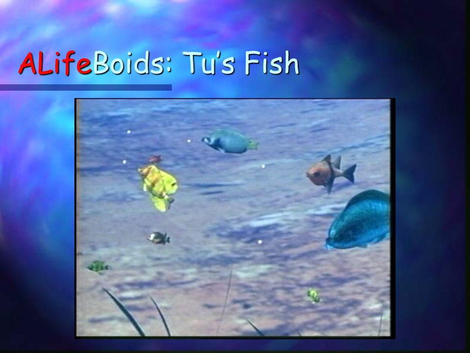 ALifeBoids: Tu's Fish