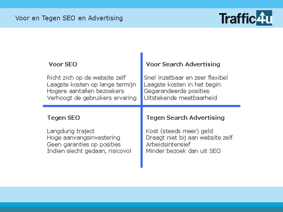 Voor en Tegen SEO en Advertising