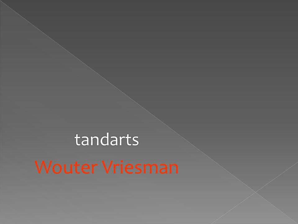 tandarts Wouter Vriesman