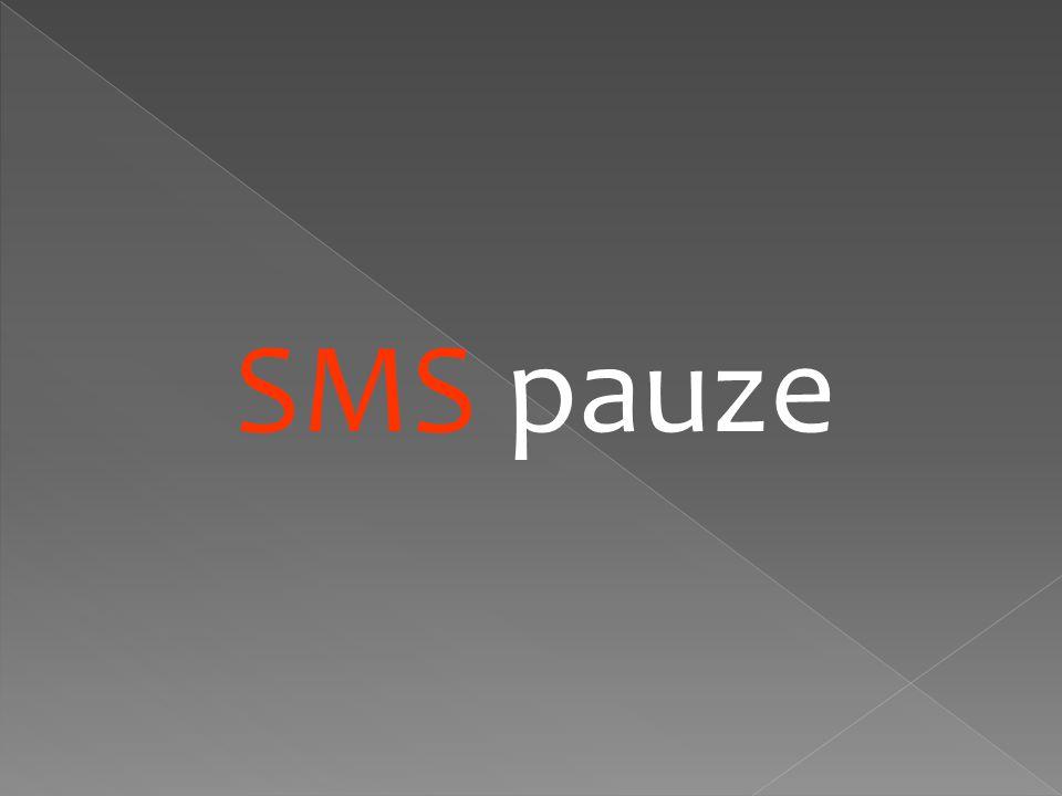 SMS pauze