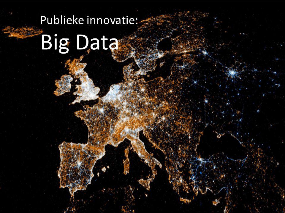 Publieke innovatie: Big Data