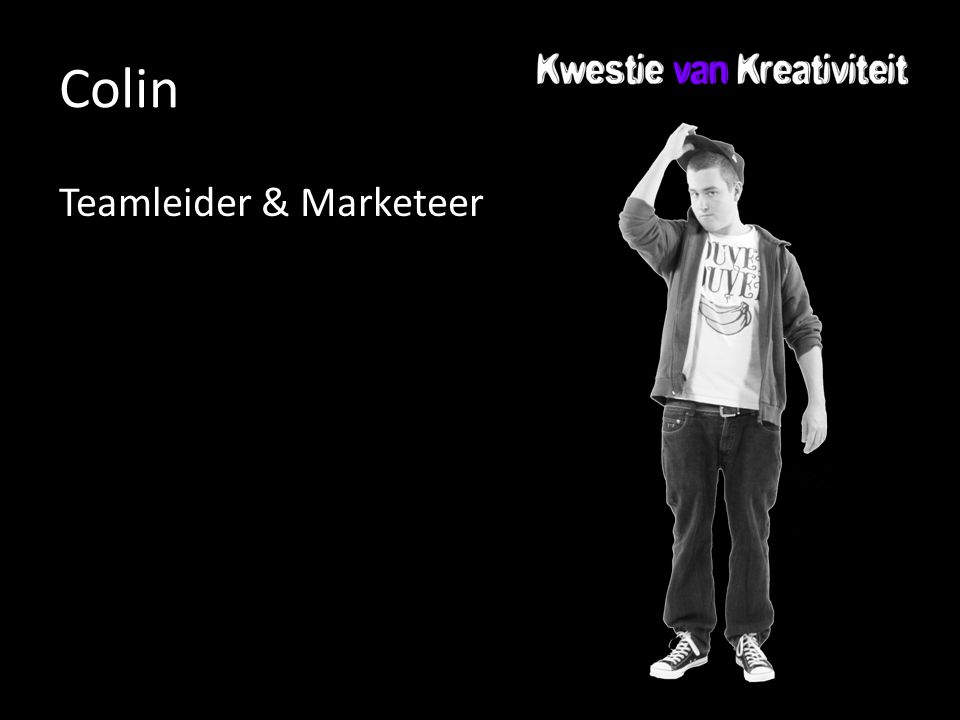 Colin Teamleider & Marketeer