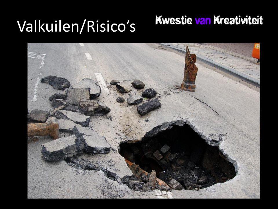 Valkuilen/Risico's