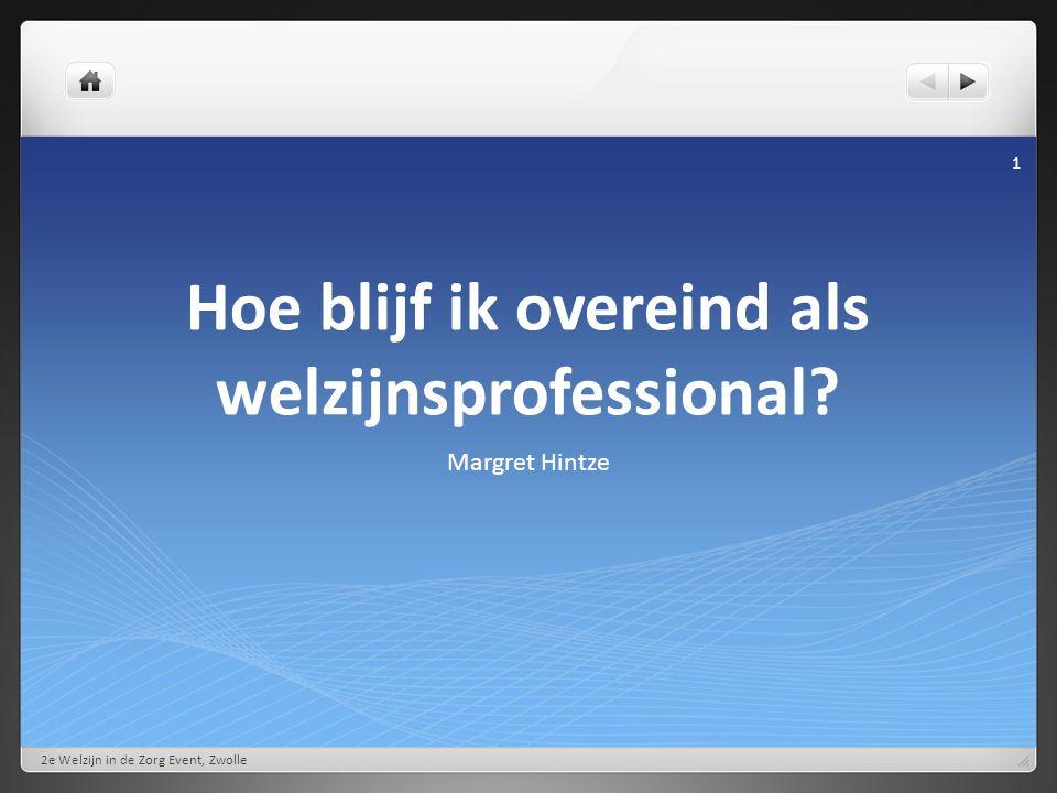 Activiteiten in groepsverband 2e Welzijn in de Zorg Event, Zwolle 12