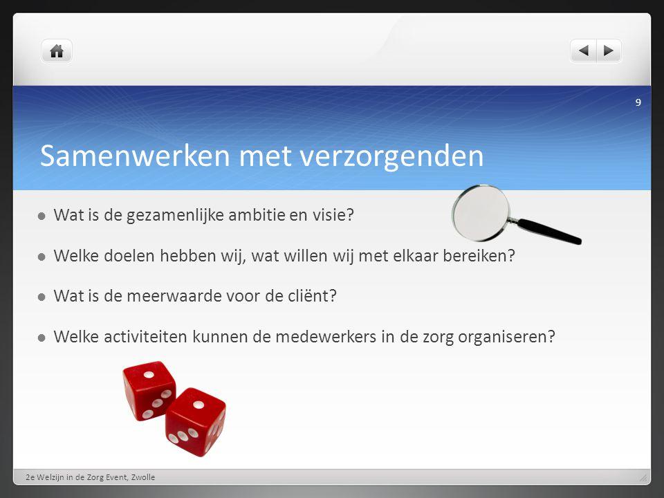 Individuele aandacht 2e Welzijn in de Zorg Event, Zwolle 10