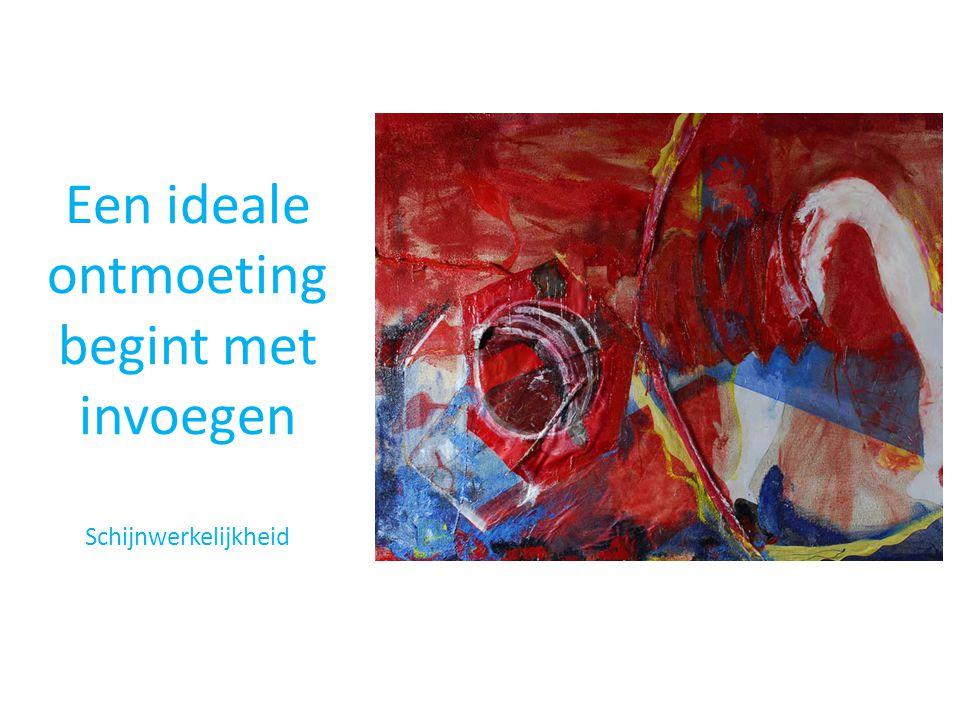 Een ideale ontmoeting begint met invoegen Schijnwerkelijkheid