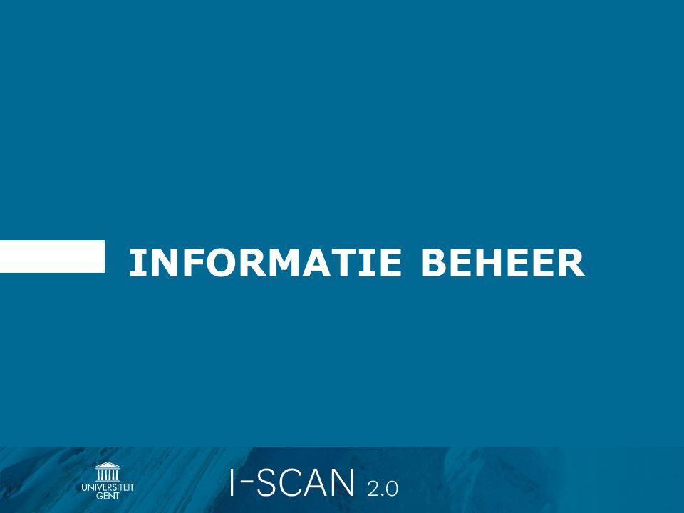 INFORMATIE BEHEER