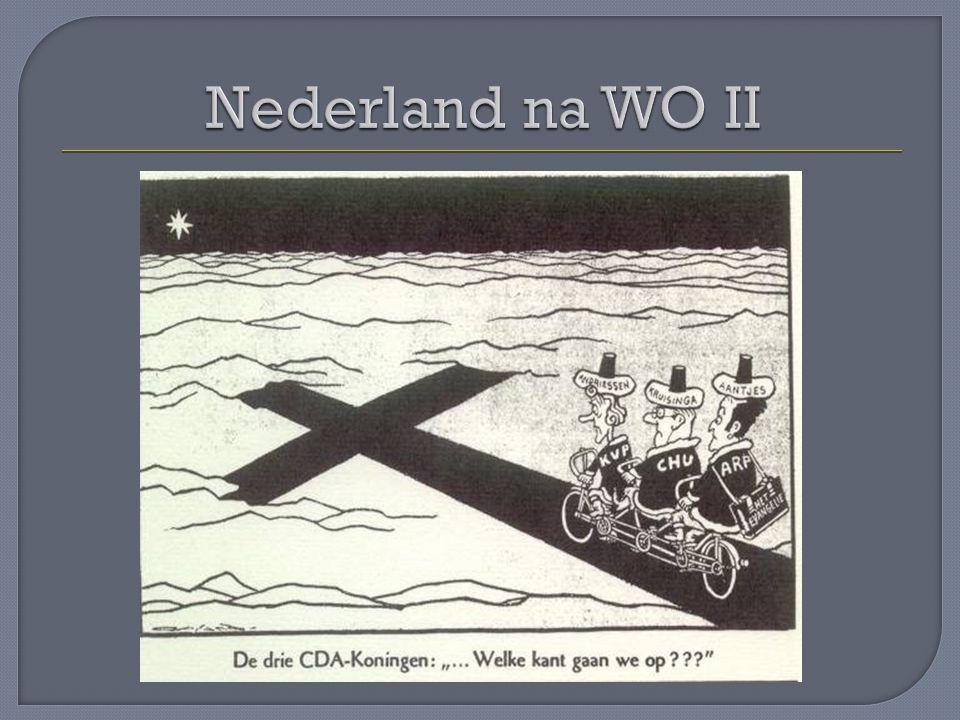 In 1973 verloren de confessionelen en de VVD hun meerderheid Voor de verkiezingen hadden PvdA,D'66 en PPR afgesproken samen te gaan werken (PAK) en een programma geschreven (Keerpunt '72) Zij vormden een regering aangevuld met een paar progressieve,confessionele ministers (rood met een wit randje) Dat werd het kabinet Den Uyl