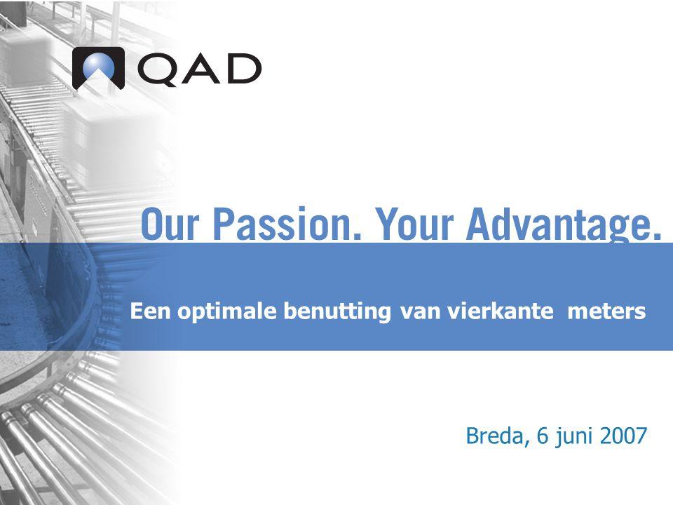 Een optimale benutting van vierkante meters Breda, 6 juni 2007