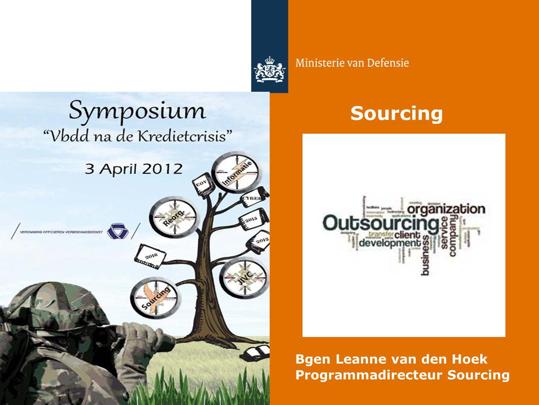 Sourcing Bgen Leanne van den Hoek Programmadirecteur Sourcing