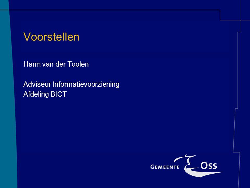 Voorgeschiedenis PrOSSessor 2002 Oss gaat klantgericht en bedrijfsmatig werken ICT beleid –Klant bepaalt kanaal –Inzage in afhandeling –7 x 24 beschikbaar –Plaatsonafhankelijk