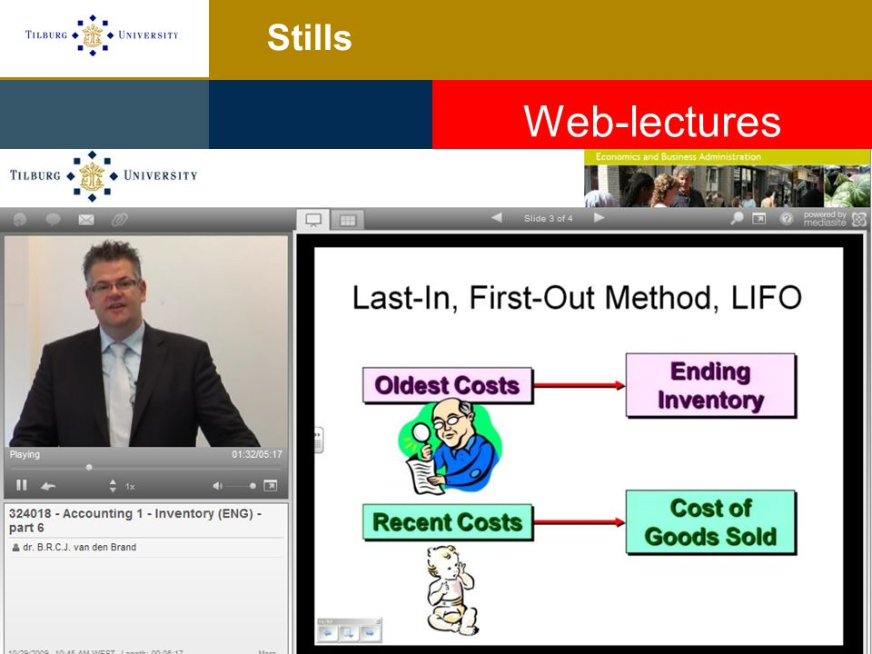 Stills Web-lectures