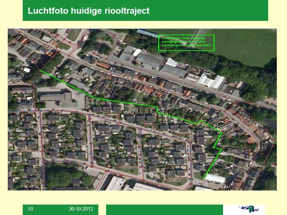 30-10-2012 10 Luchtfoto huidige riooltraject