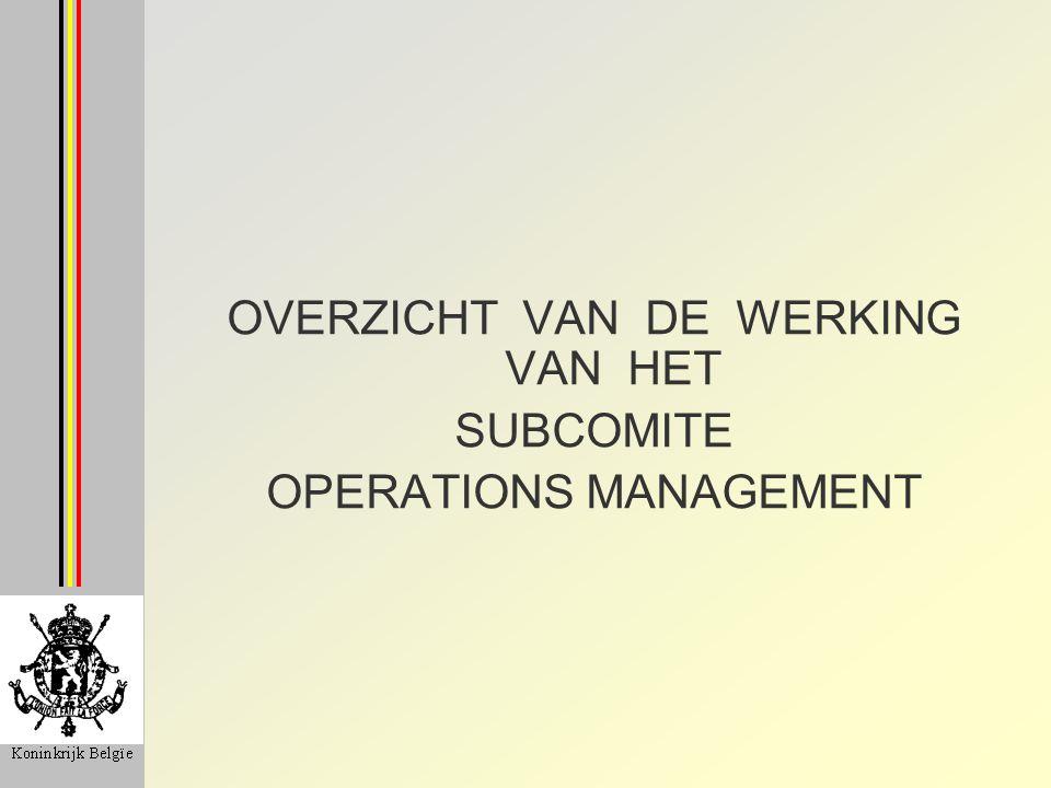 Subcomité Operations Management ISPS 1 VERORDENING VEELVOUD AAN UITVOERINGSPROCEDURES UNIFORME INTERNATIONALE KONTROLES EU ONDERZOEKT EN BEOORDEELT DE VERSCHILLENDE PROCEDURES BEDOELING IS OM TE EVOLUEREN NAAR 1 PROCEDURE 1 ISPS-DOCUMENT