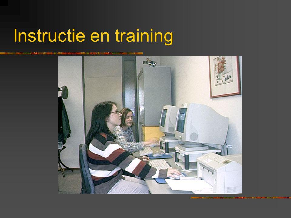 Implementatie Werkwijze o Afspraken maken o Testen o Tijdspad opstellen o Informatie verstrekken o Training via modules