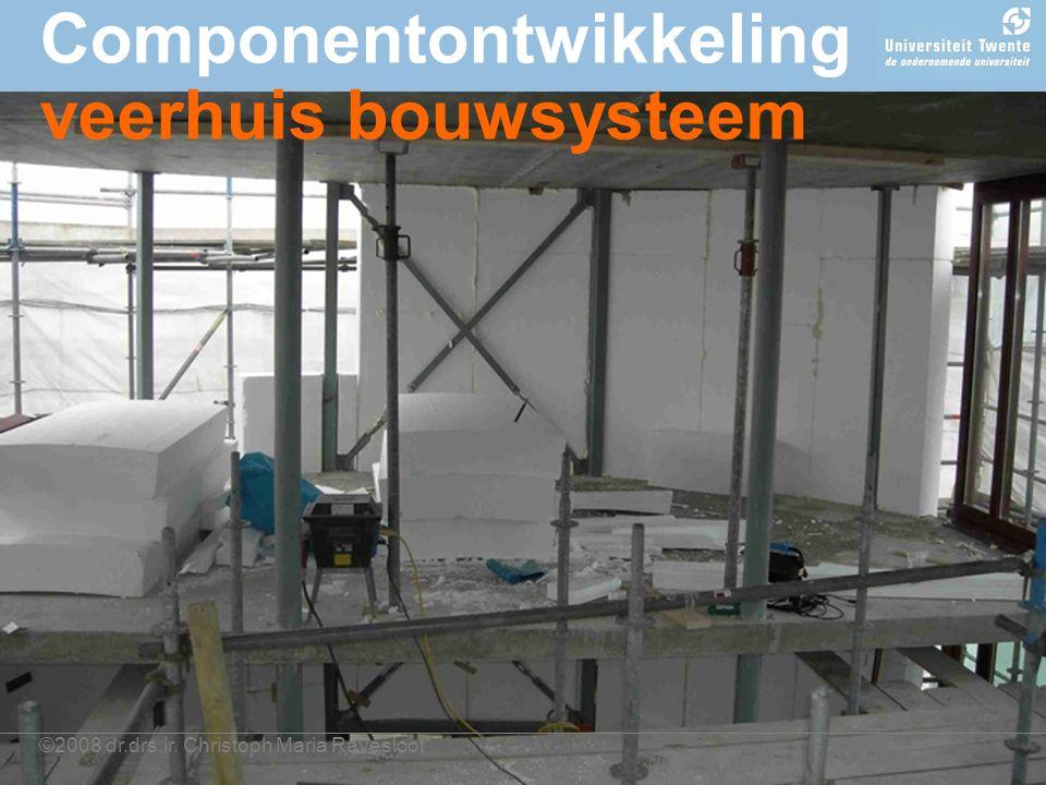 ©2008 dr.drs.ir. Christoph Maria Ravesloot Componentontwikkeling veerhuis bouwsysteem