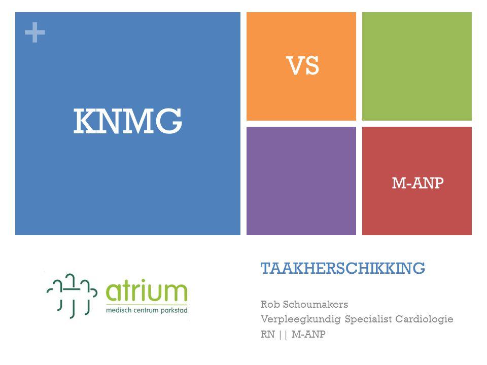 + TAAKHERSCHIKKING Rob Schoumakers Verpleegkundig Specialist Cardiologie RN || M-ANP KNMG VS M-ANP