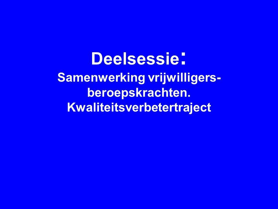 Introductie Karin de Bie: Netwerk Palliatieve Zorg Midden-Brabant Hélène Vissers: Kwaliteitsverbetertraject, VPTZ Tilburg e.o., Medewerker vrijwillige hospicezorg