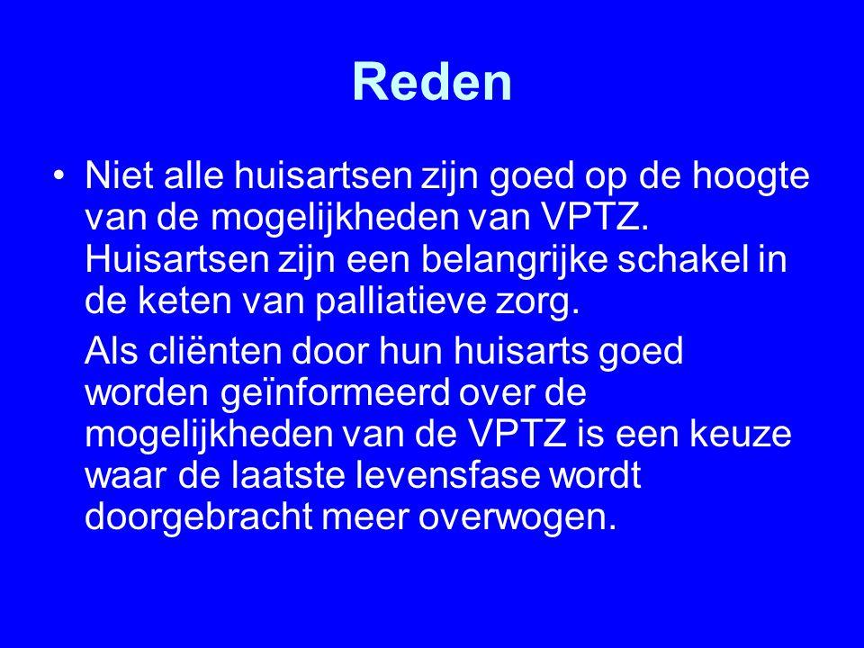 Conclusie Door, naast de hulp van kinderen en professionele werkers, tijdige en intensieve inzet van VPTZ kon mevr.