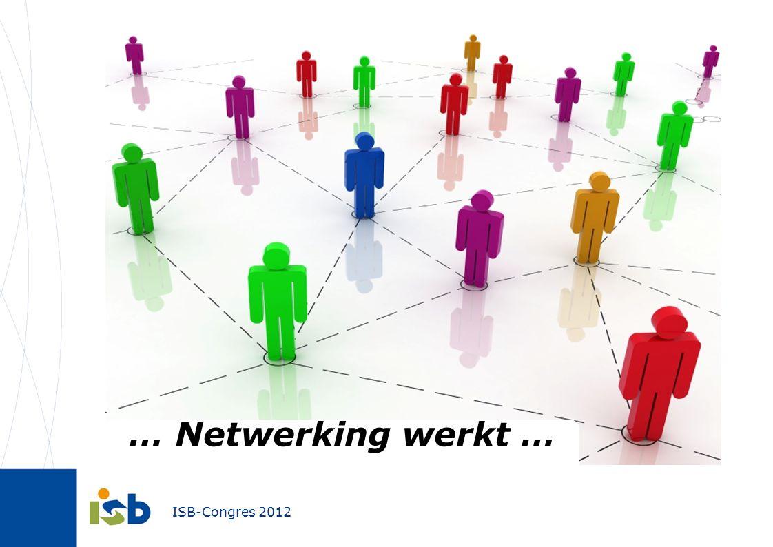 ISB-Congres 2012 Uitvoeren en opvolgen 45 Flankerende onderzoeken