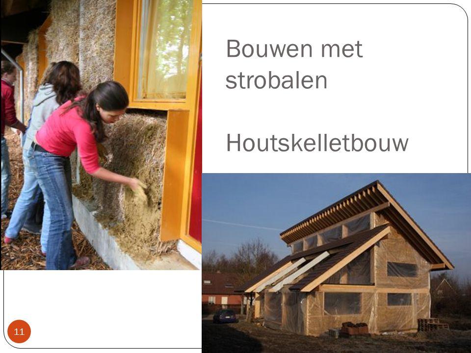 Bouwen met strobalen Houtskelletbouw 11