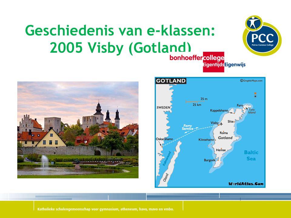 Geschiedenis van e-klassen: 2005 Visby (Gotland)