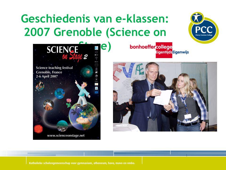 Geschiedenis van e-klassen: 2007 Grenoble (Science on Stage)
