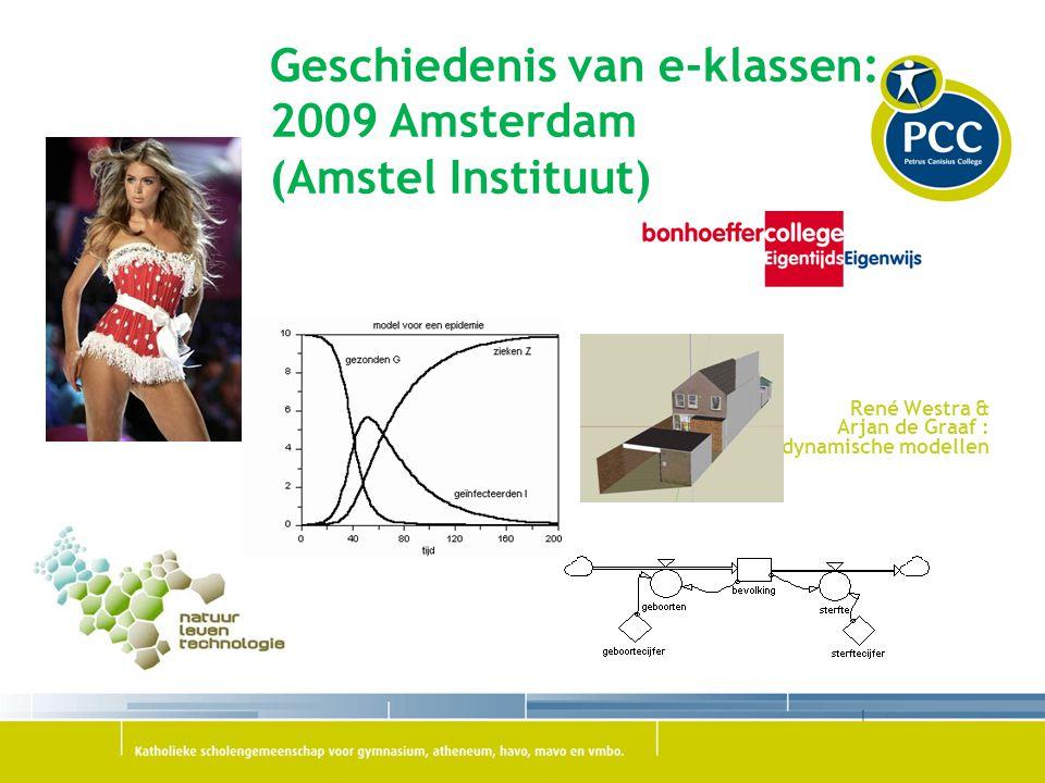 Geschiedenis van e-klassen: 2011 Den Haag (Innovatie Impuls Onderwijs)  http://www.e-klassen.nl/portal/site/e-klas http://www.e-klassen.nl/portal/site/e-klas